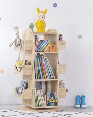 MesaSilla Vollholz Bücherregal für Kinder