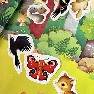 Mein erstes Stickerbuch, In der Natur