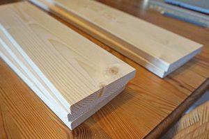 Holz aus dem Baumarkt, DIY - Wandregal für Kinderbücher