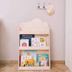 Titelbild Dotty - Kinder Bücherregal aus Naturholz